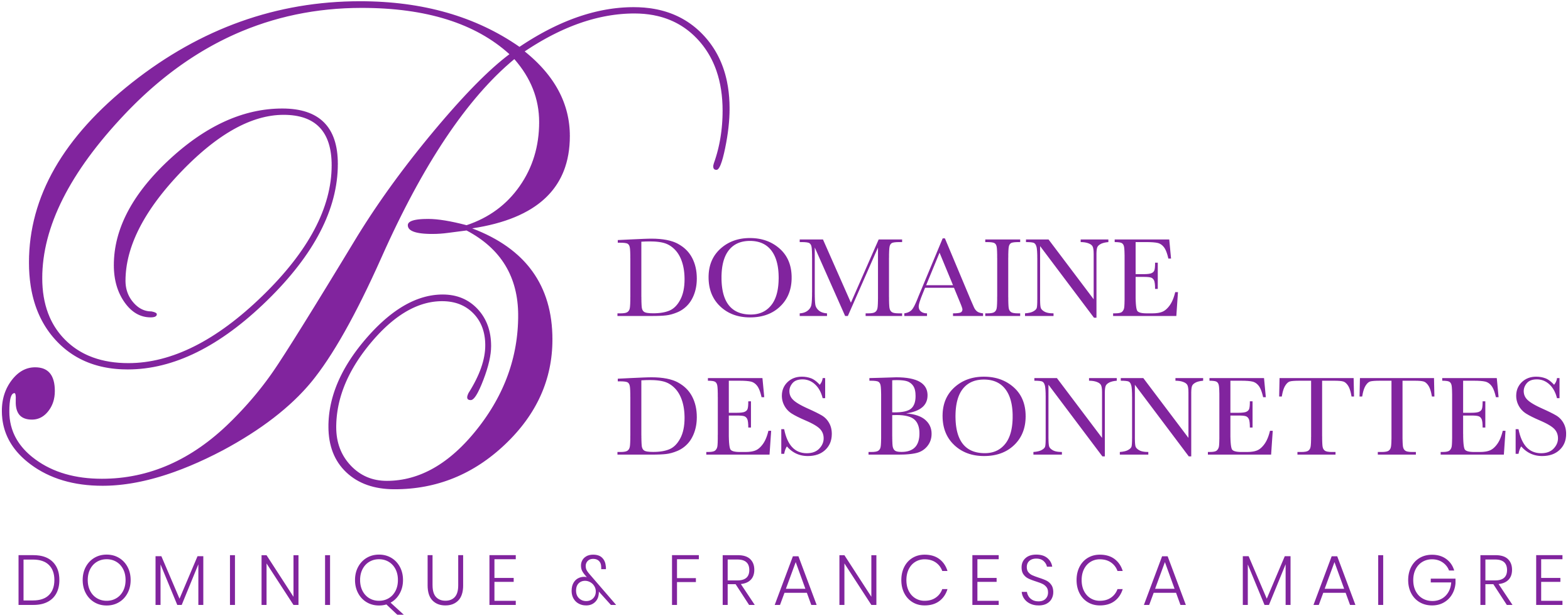 Domaine des Bonnettes